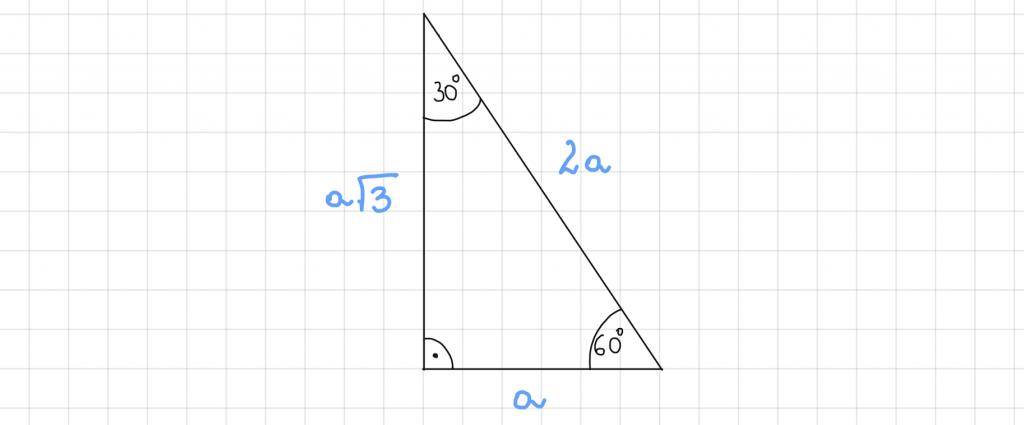 wzory matematyczne | karta wzorów | trójkąt prostokątny